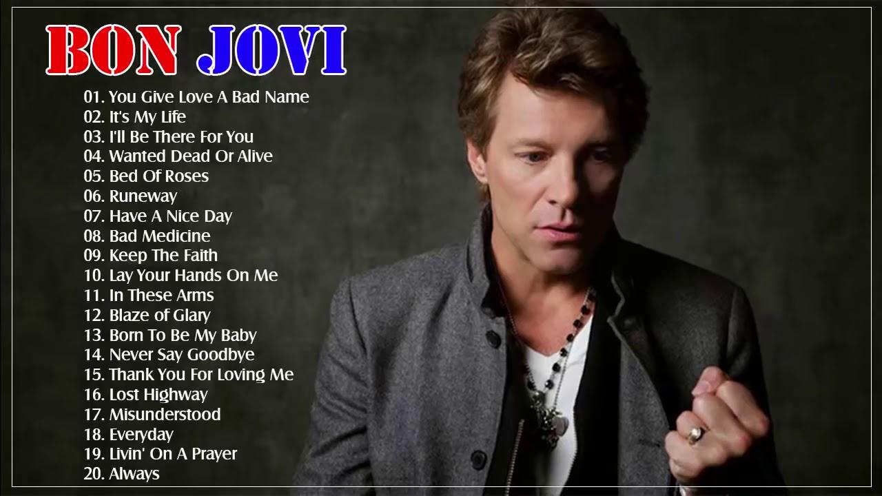 Bon Jovi Éxitos Sus Mejores Canciones - Bon Jovi GRANDES ...