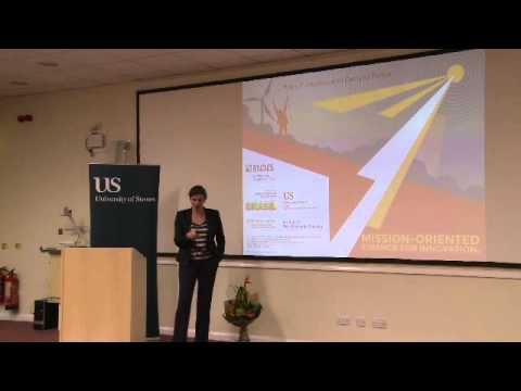 University of Sussex Professorial Lecture - Mariana Mazzucat