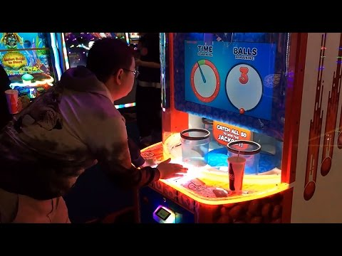 How To Win Quick Drop Arcade Game Jackpot Youtube