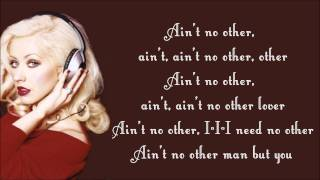Скачать Christina Aguilera Ain T No Other Man Lyrics Video