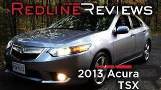 2013 Acura TSX Review, Walkaround, Exhaust, & Test Drive