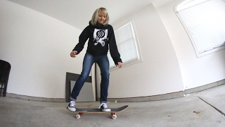 MY WIFE CAN OLLIE!?