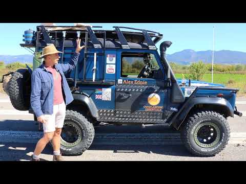 My Land Rover Defender Overland Vehicle Walk Around And Review