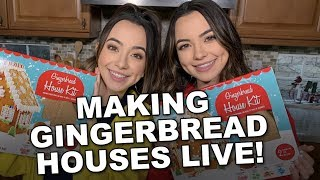 Cover images Making Gingerbread Houses - Merrell Twins LIVE