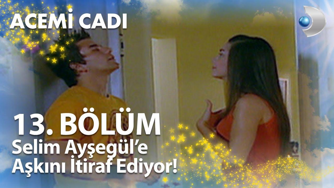 Selim, Ayşegül'e Aşkını İtiraf Ediyor - Acemi Cadı 13. Bölüm