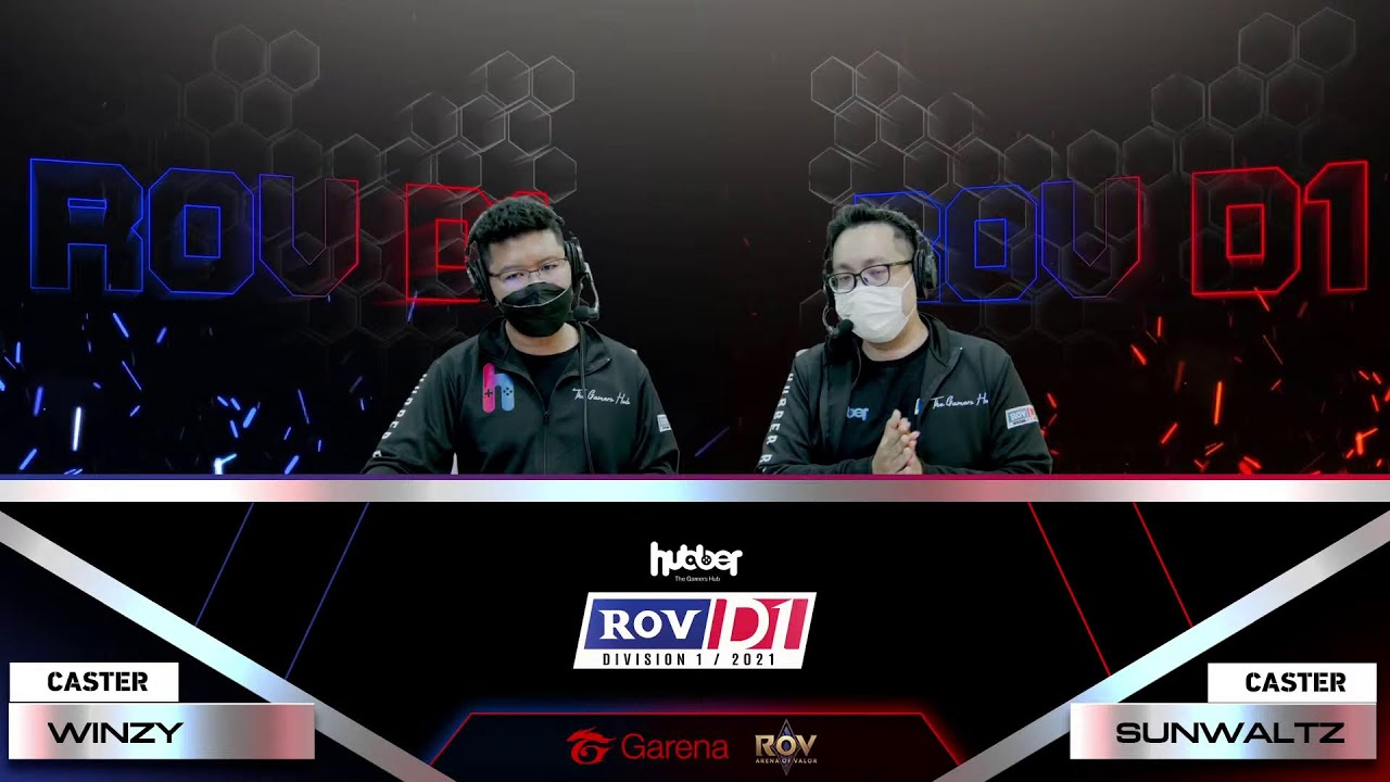 RoV Division 1/2021 Play-Off Day 2 by Hubber.gg