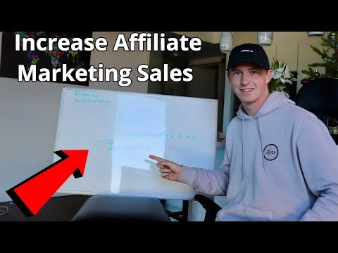 #1 Way to Increase Your Affiliate Marketing Sales for 2019