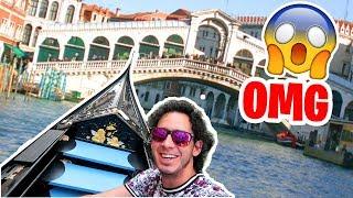 TE LLEVO A CONOCER VENECIA Y GENOVA | Mi Viaje por Italia Video Vlog | HaroldArtist