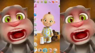 My Talking Tom Vs Talking Babsy Baby || Great Makeover - Gameplay HD
