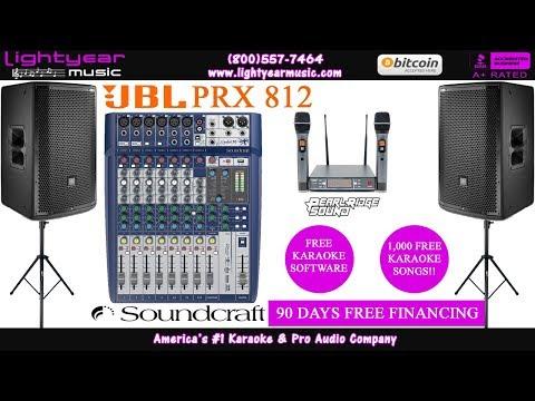 jbl-prx-812-|-professional-karaoke-system-|-free-karaoke-software-|-free-karaoke-songs-✅