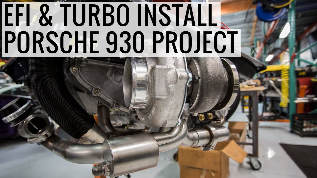 hight resolution of efi install and turbo choices porsche 930 project ep07