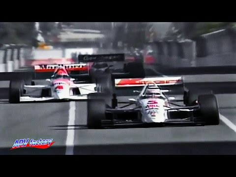 Nigel Mansell's Indycar debut race
