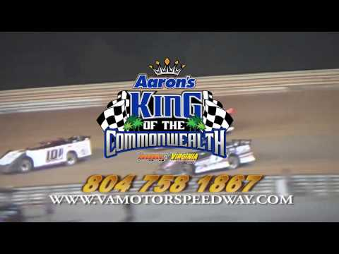 Virginia Motor Speedway Aaron's King of the Commonwealth Commerical