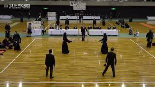 HOKKAIDO sv HIROSHIMA 66th All Japan Interprefectrue Kendo Championship 2018 Semi Final