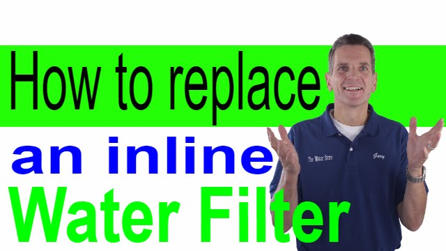 How to Replace an inline Water Filter Kenmore Refrigerator Schematic Diagram on