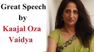 Kaajal Oza Vaidya - Inspiration 2K16 - 01 - Om Engineering College