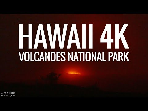 Volcanoes National Park in Hawaii 4K (ULTRA HD)