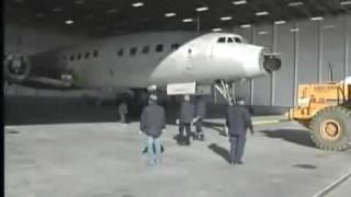 Lufthansa L1649 Roll in Auburn Maine
