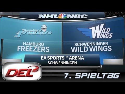 Deutsche Eishockey Liga [DEL] #007 - Schwenningen Wild Wings - Hamburg Freezers ★ Let's Commentary