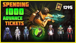 1000 ADVANCE TICKETS on NEW UPDATE CRAZY SKINS - Rules of Surival