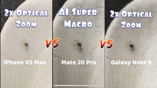 Huawei Mate 20 Pro AI Super Macro: How to, Test & Comparison to iPhone XS Max, Galaxy Note 9, etc