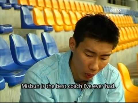Lee Chong Wei Interview after Beijing Olympic Part 2