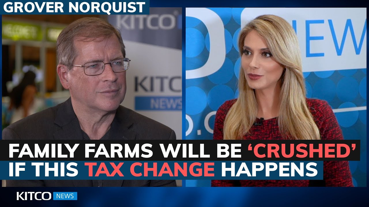 Biden's proposed inheritance tax changes would destroy small American farmers: Norquist