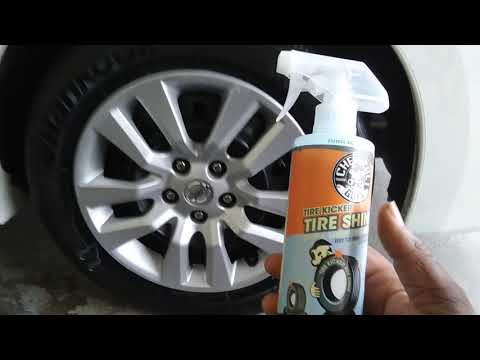 Chemical guys tire kicker tire shine review