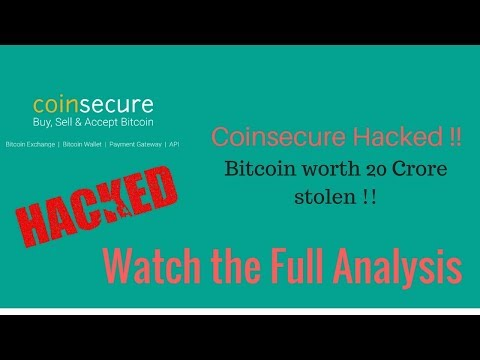 Coinsecure Hacked ! Bitcoin worth 20 Crore stolen. Here is how everything happened