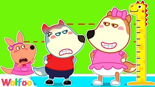 Lucy and Wolfoo Wants to Be Taller   +Compilation   Wolfoo Family Kids Cartoon