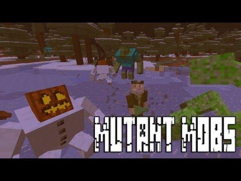 Batalla Épica! Zombie, Enderman, Golem Y Creepers Mutantes - MINECRAFT MUTANT MOD