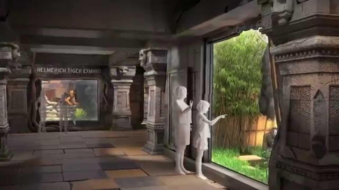 Tulsa Zoo's Lost Kingdom Exhibit Complex Preview