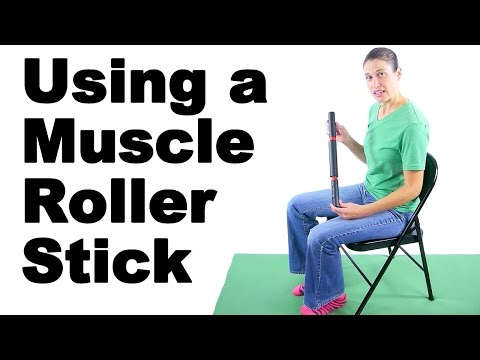 Using a Muscle Roller Stick to Relieve Tight or Sore Muscles Ask Doctor Jo