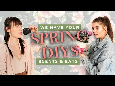 SPRING & EASTER DIY'S 🌸🐣featuring Smell Sense