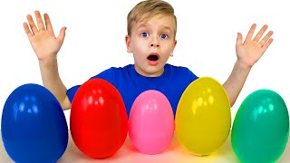 Children Song with Dima - Egg Hunt by Dima Family Show