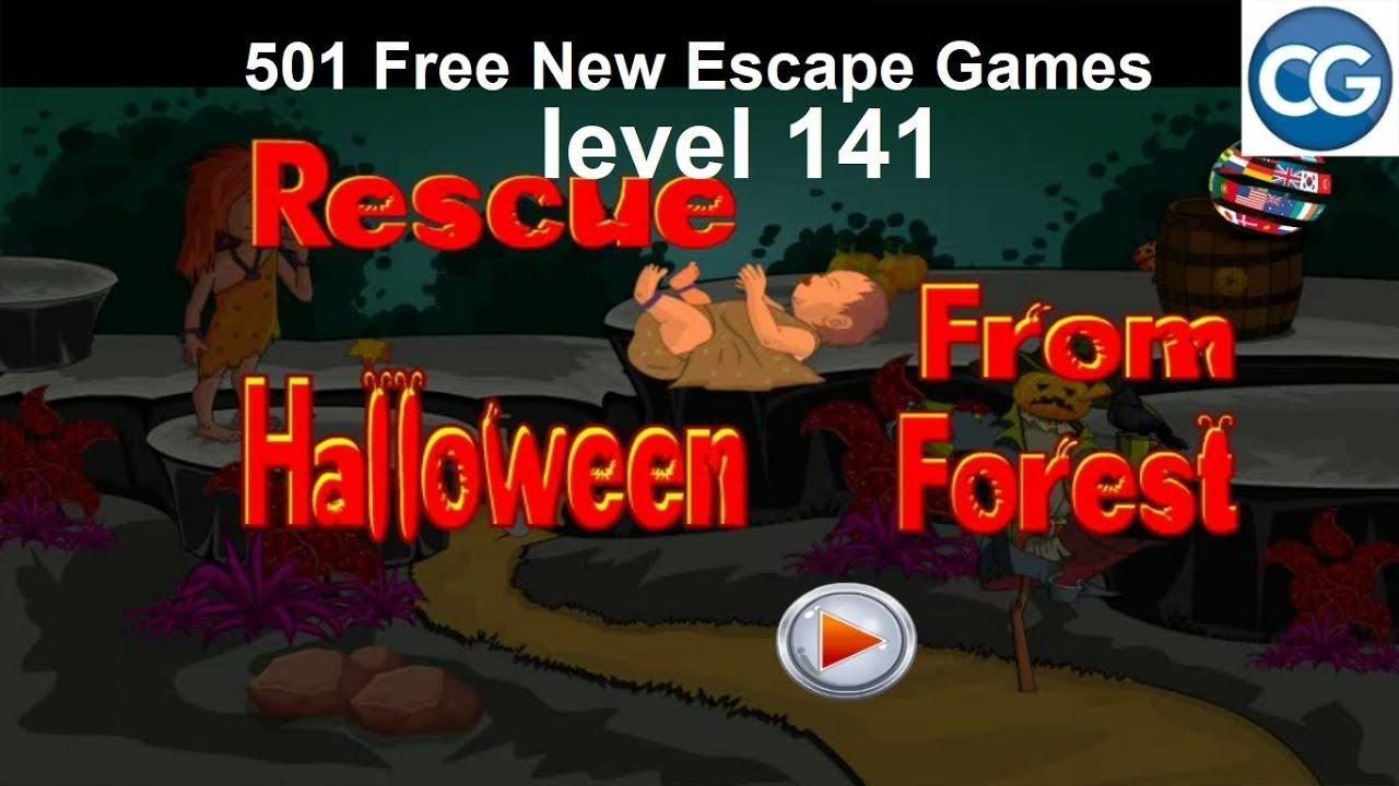 Walkthrough 501 Free New Escape Games Level 141 Rescue
