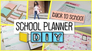 School Notebook Planner DIY   Easy and Cheap