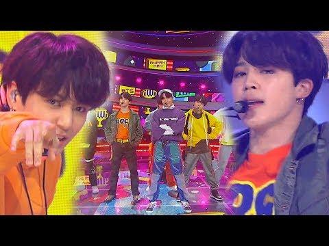 《EXCITING》 BTS(방탄소년단) - ANPANMAN @인기가요 Inkigayo 20180603