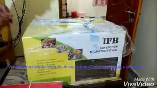 Unboxing of 30BRC2 Convection Microwave