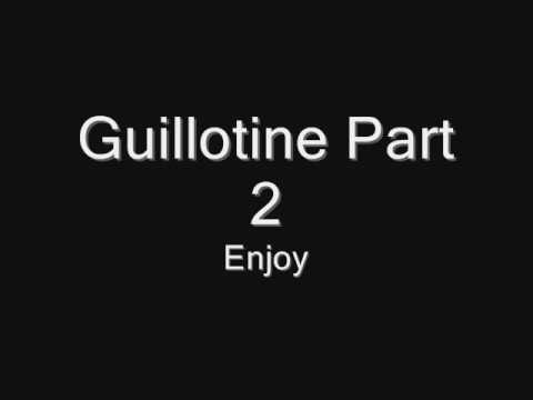 Escape The Fate guillotine part 1 and 2 WITH LYRICS