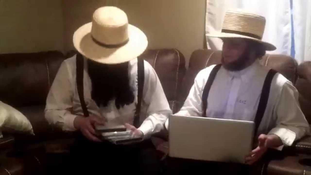 Amish computer salesman - YouTube