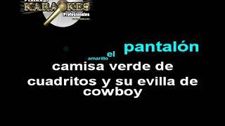 Tecno Banda K22 EL RANCHERO CHIDO karaoke (LETRA)