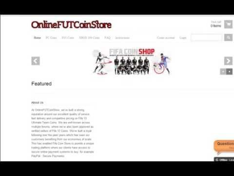 OnlineFUTCoinStore - Buy Instant FIFA 13 Coins