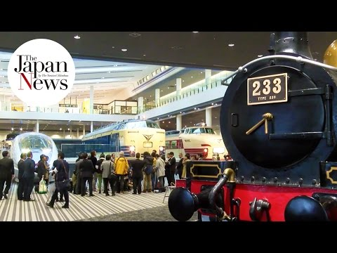 Large railway museum in Kyoto open to media - The Japan News