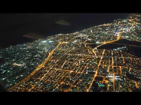 Ночной полет из Тель Авива.