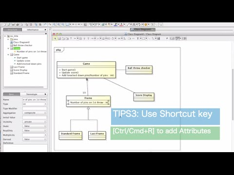 How to create uml class diagrams faster youtube ccuart Gallery