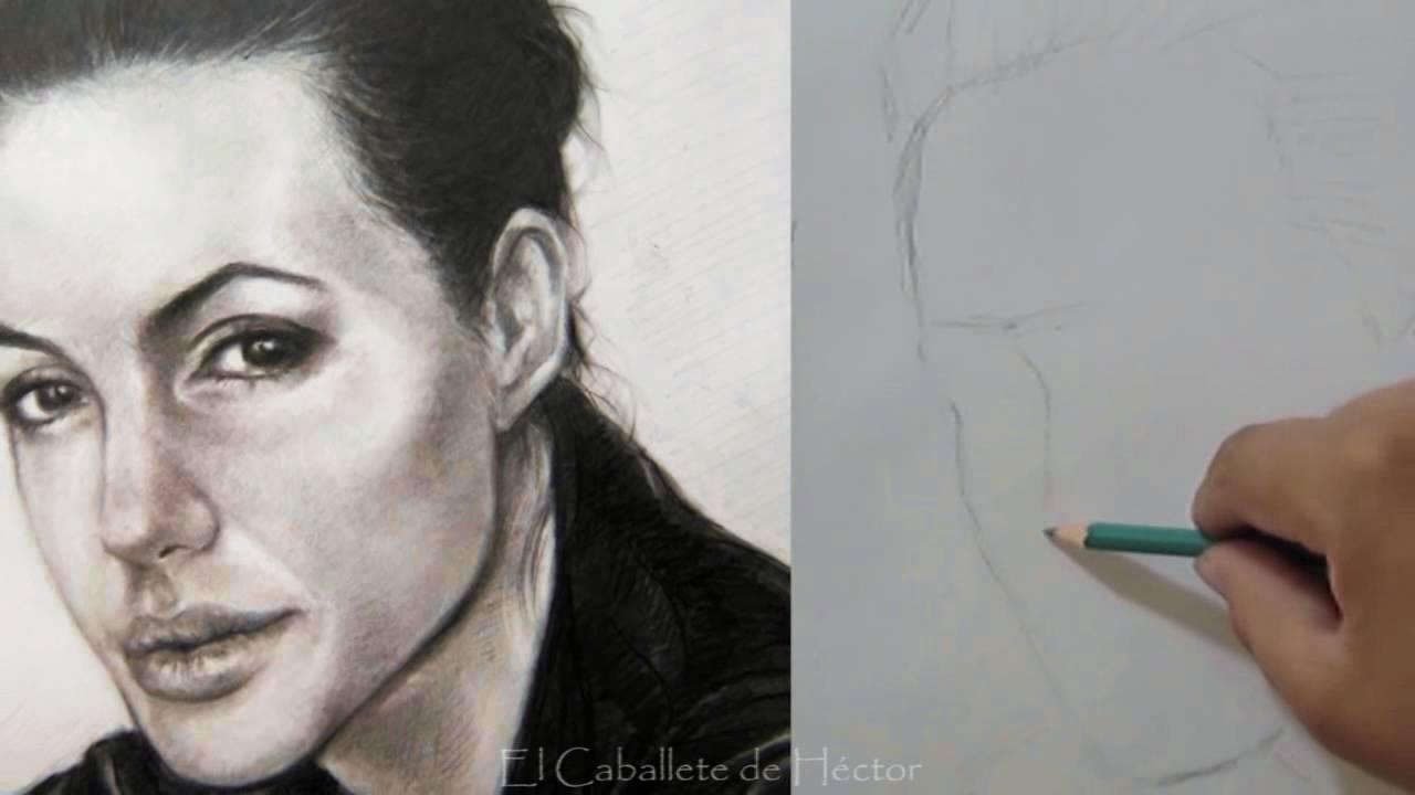Como dibujar un rostro  Aprende a proporcionar un retrato