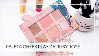 PALETA CHEEK PLAY RUBY ROSE - KAREN BACHINI