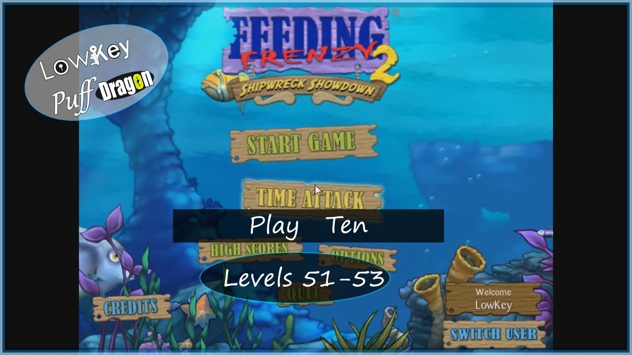 Download Feeding Frenzy 2 - Shipwreck Showdown - Play Ten (Levels 51 - 53)