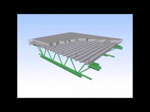 Ecospan Composite Structural Steel Floor Roof And Decking